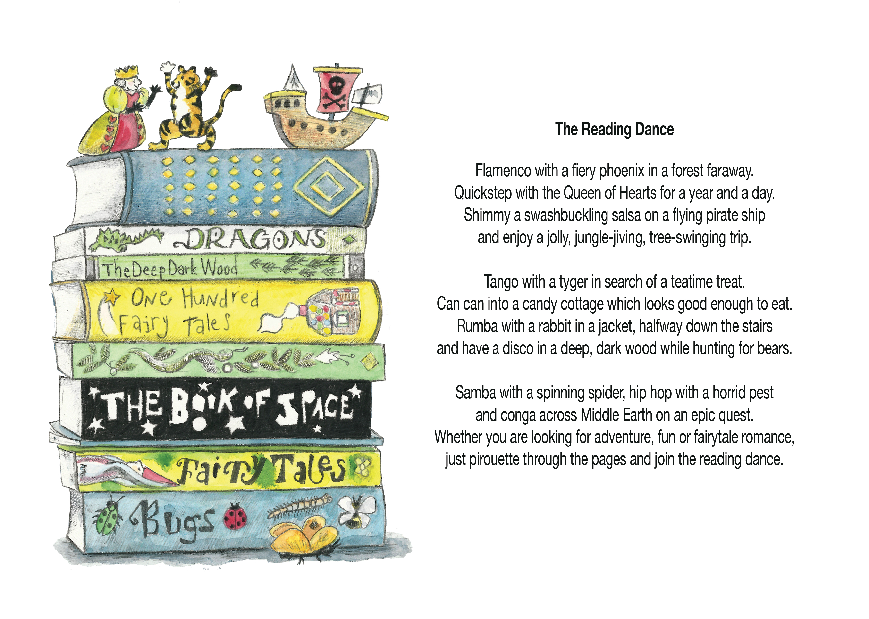 The Reading Dance Worksheet Jools Wilson