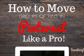 Move Pins Pinterest