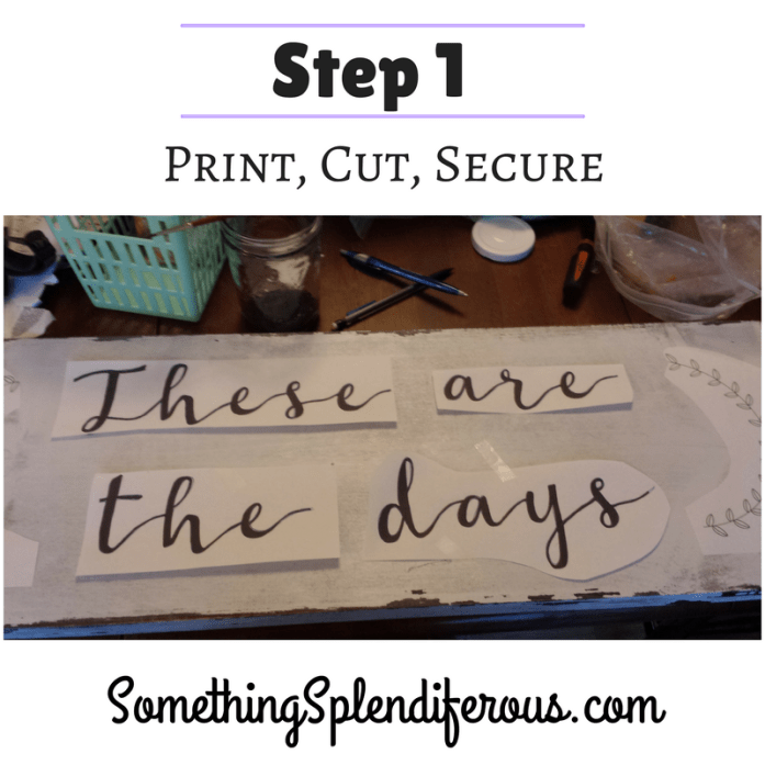 somethingsplendiferous.com DIY Sign