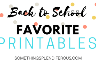 Back to School Favorite TPT Printables Krazy for Kinders somethingsplendiferous.com