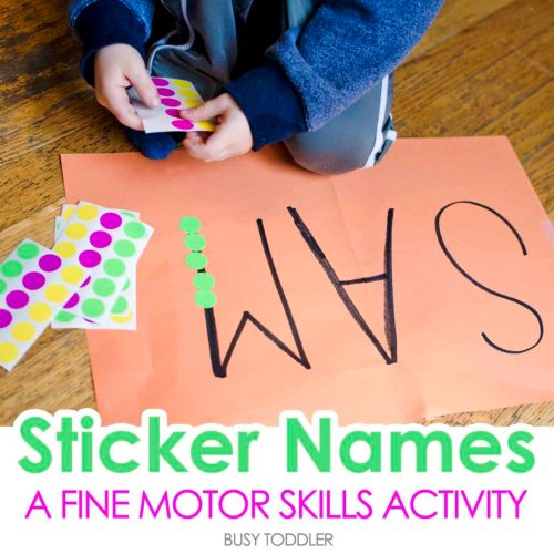 9 Super Easy Ways to Help Your Child Practice Their Name