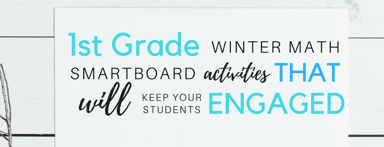 12 1st grade winter smartboard activities that will keep your students engaged www.somethingsplendiferous.com