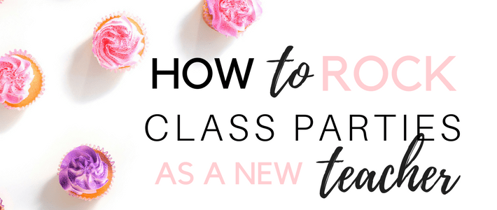 How to Rock Class Parties as a New Teacher How to Rock Your Classroom Parties Free Classroom Party Printable template www.somethingsplendiferous.com