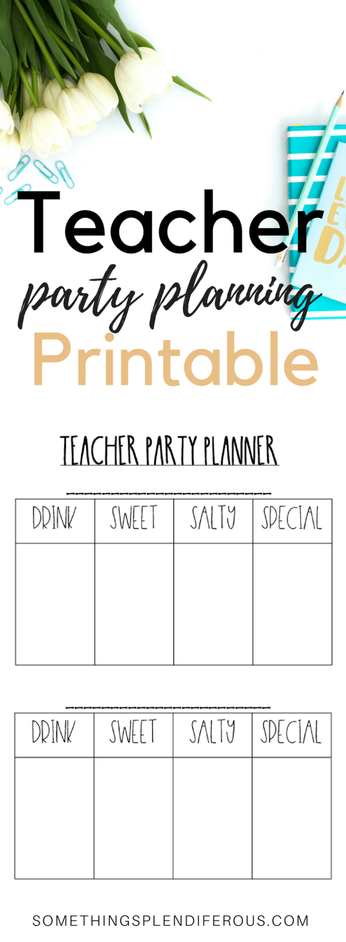 How to Rock You Classroom Parties Free Classroom Party Printable template www.somethingsplendiferous.com