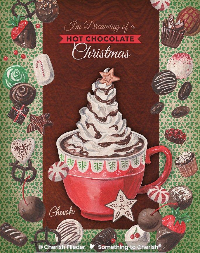 Christmas C1320-01 Hot Chocolate Christmas © Cherish Flieder