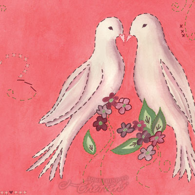 lovey dovey final painting by cherish-flieder