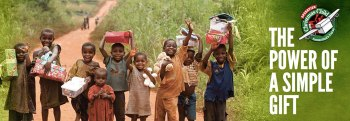 operation christmas child - the power of a simple gift