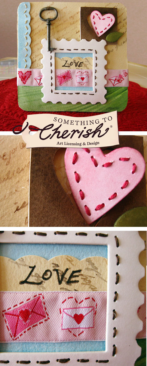Love Letters Are Key - Valentine's Ribbon