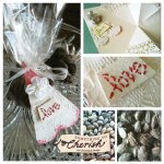 Dark Chocolate Almond Wedding Favor – Designer Crafts