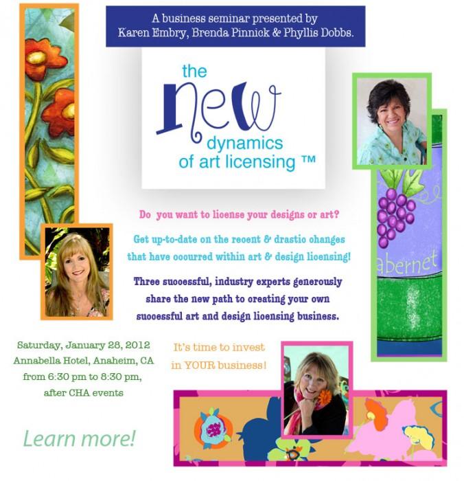 Jan 2012 Art Licensing Business Seminar