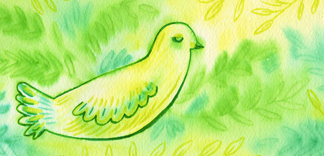 Just Peaceful - Watercolor by Cherish Flieder, Something to Cherish