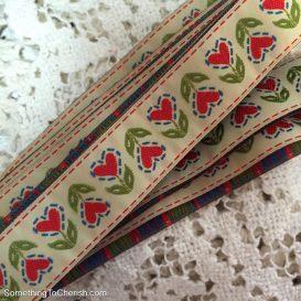 Dala Heart Ribbons by Cherish Flieder