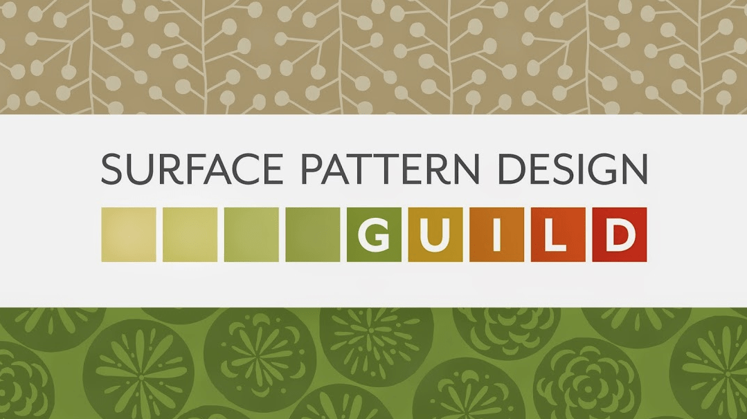 This week I'm excited to be a guest speaker on the very first Surface Pattern Design Guild webinar. Replays are available to members.