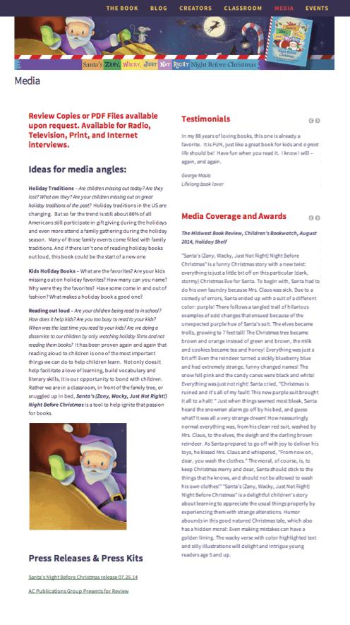 PurpleSantaSuit.com design by Cherished Solutions, llc