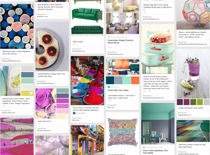 "Also, check out some of my favorite color trends throughout the year on my ""Colors to Cherish"" Pinterest board."