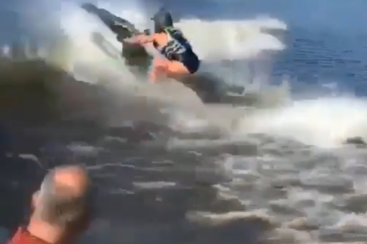 jet ski fail