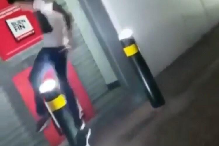 pole jumping fail