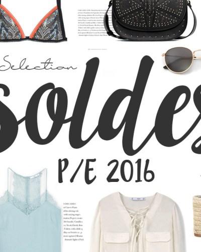 Sélection soldes P/E 2016