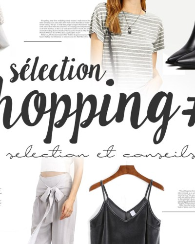 Sélection shopping #7 SheIn