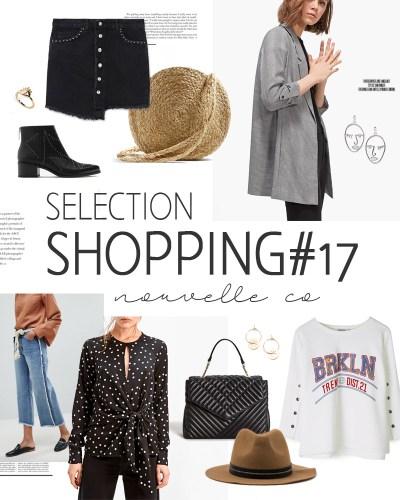Sélection shopping #17 nouvelle co