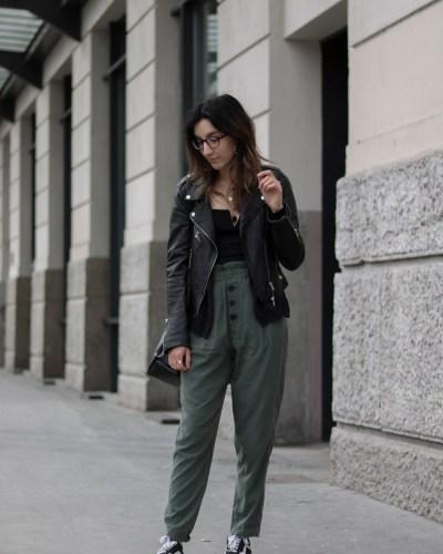 Body & pantalon taille haute