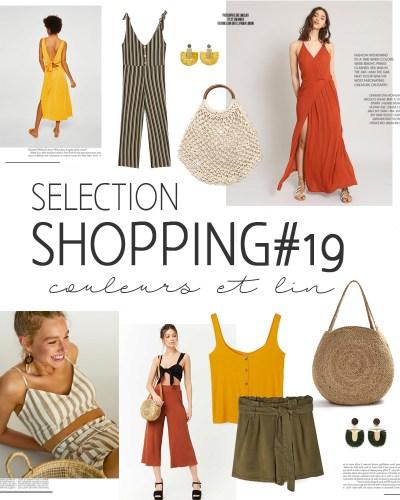 Sélection shopping #19 couleurs et lin