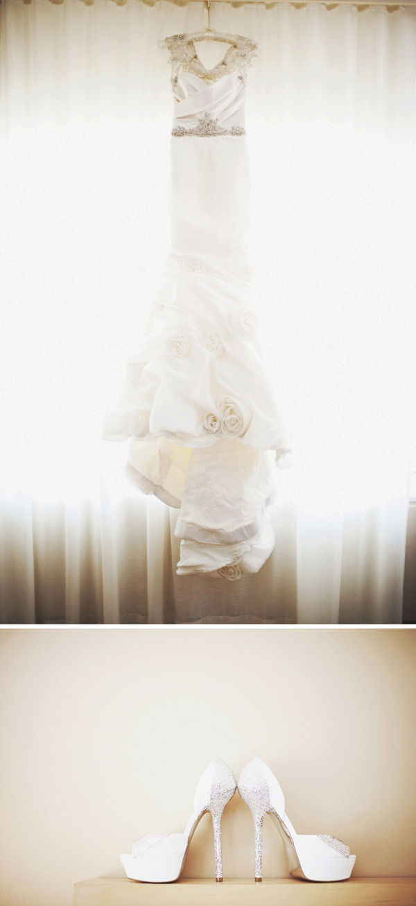custom designed wedding dress