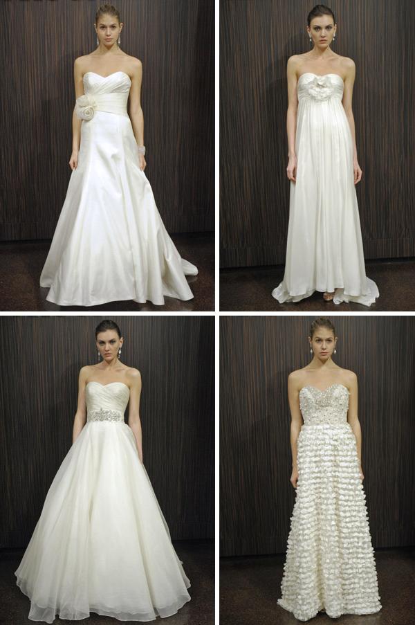 Badgley Mischka Fall 2011 Bridal Collection