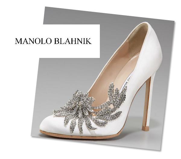 Bella Swans Manolo Blahnik Wedding Shoes