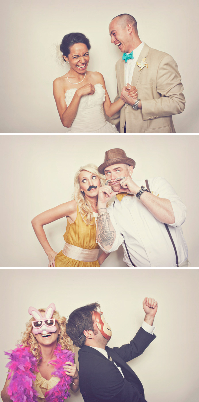 Radtastic Photobooth - Brandon + Jackie - Sloan Photographers