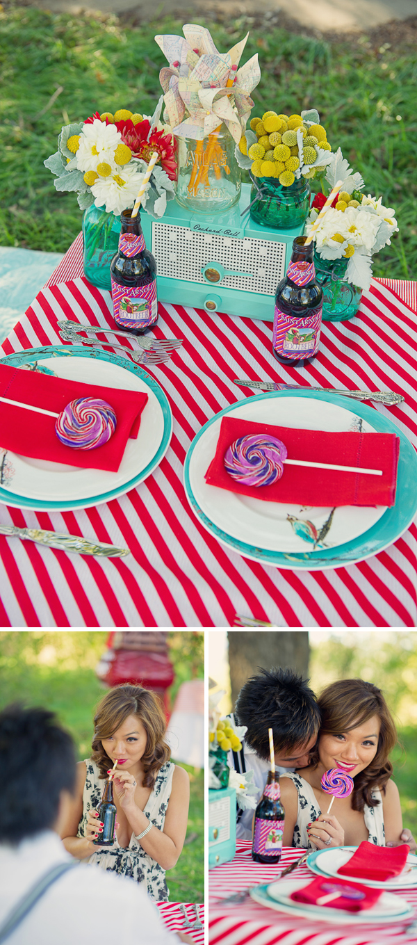 Stylized Proposal - Couture Events by Lottie via Something Turquoise