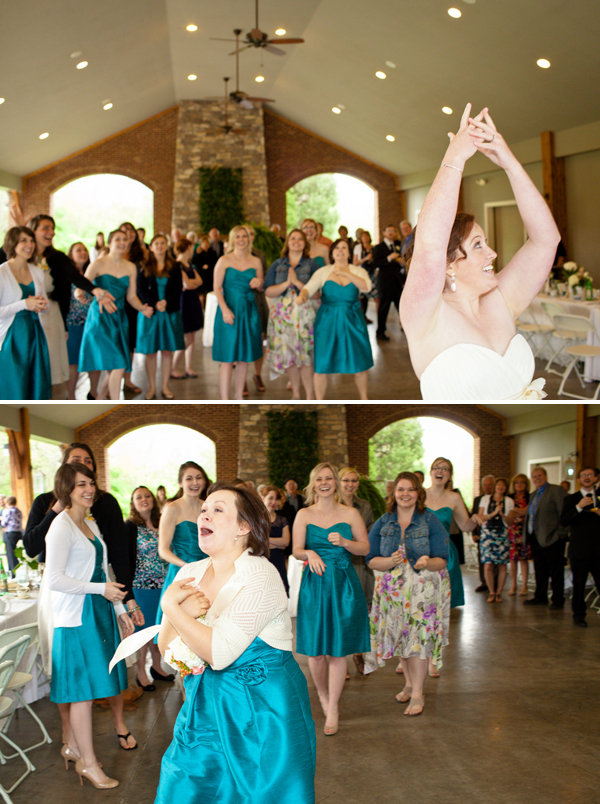 turquoise high tea wedding by Jo Photo