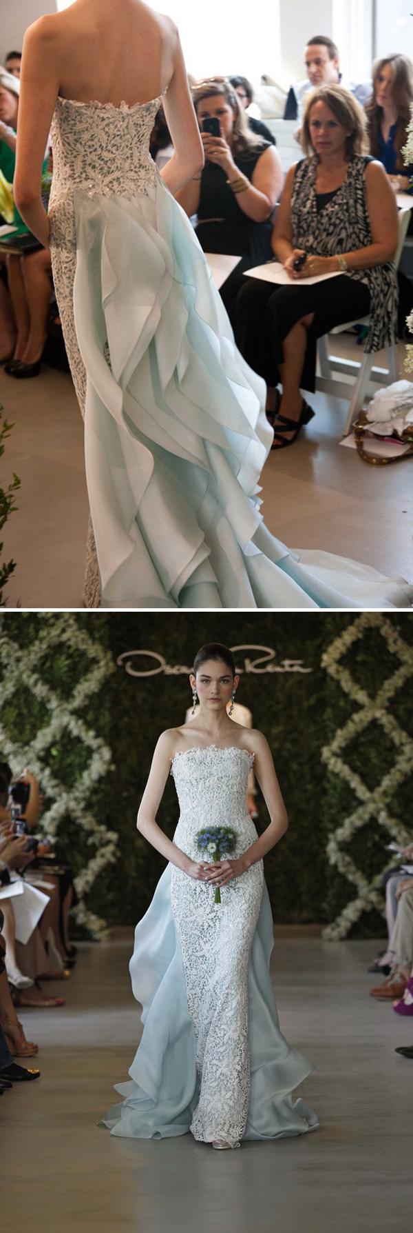 Oscar de la Renta Spring 2013 Bridal