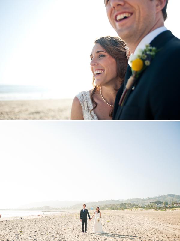 vintage beach wedding
