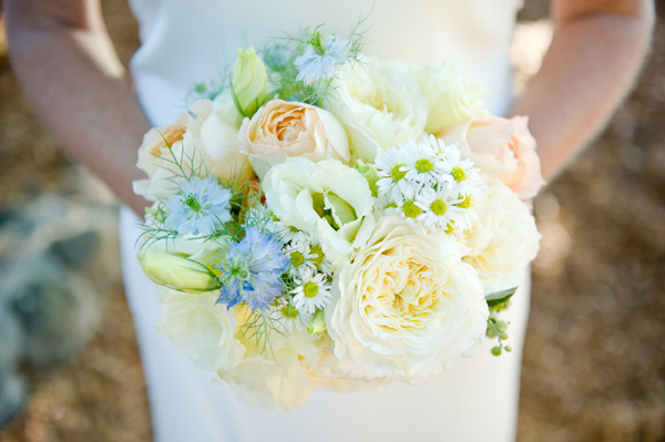 beautiful second marriage garden wedding