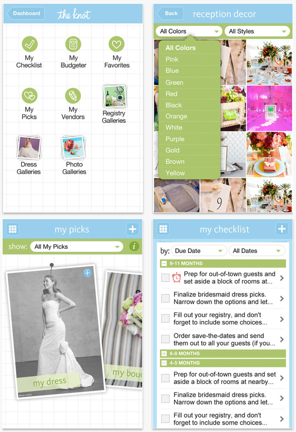 iphone fun wedding apps something turquoise daily