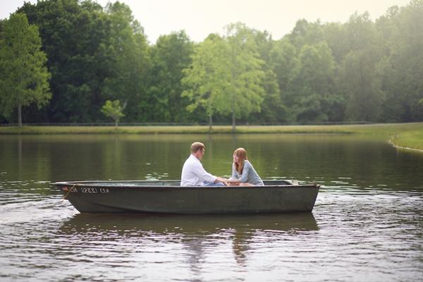 lakeside engagement