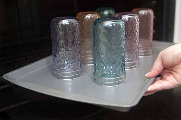diy tinted mason jar candles something turquoise. Black Bedroom Furniture Sets. Home Design Ideas