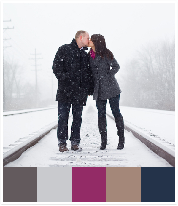 winter snow engagement