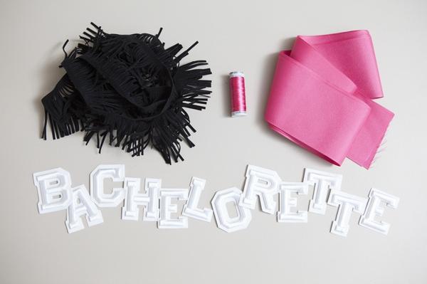 ST DIY Bachelorette Bride Sash 0002