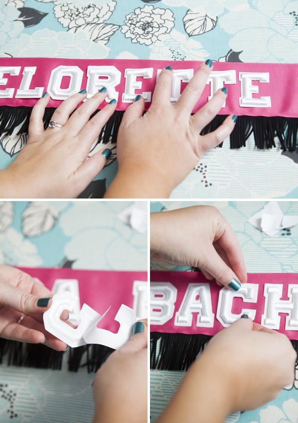 ST DIY Bachelorette Bride Sash 0006
