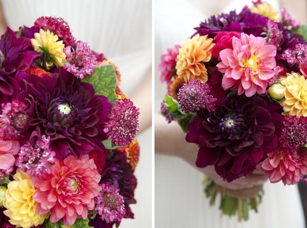 DIY fall wedding bouquet   Bouquet Blueprint