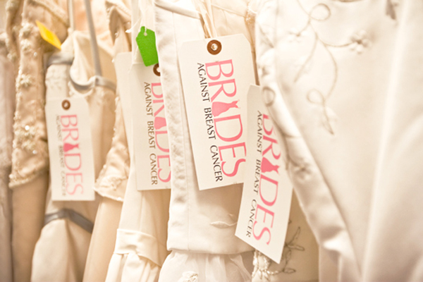 Brides Against Breast Cancer, selling dresses