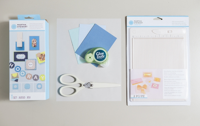 How to hand-punch your wedding stationary with Martha Stewart Crafts punches!