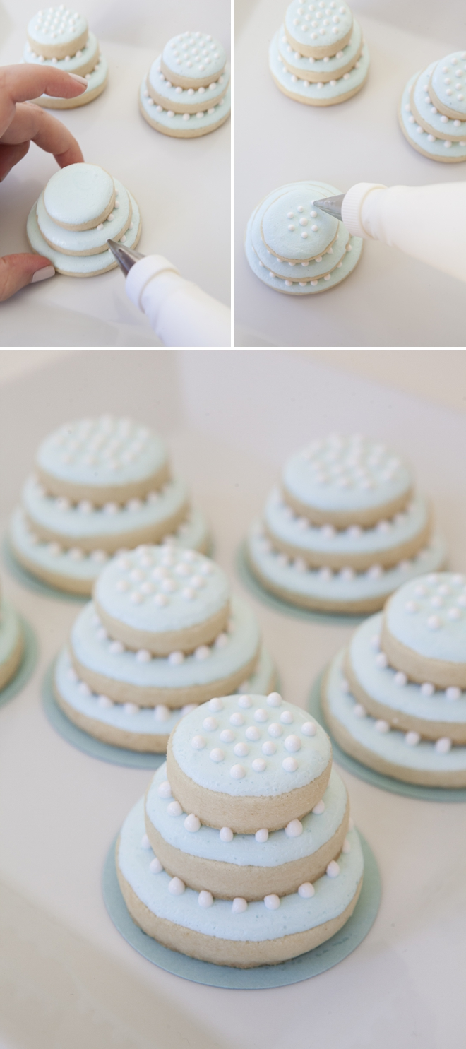wedding cake cookies learn how to make these stacked wedding cookies 22240