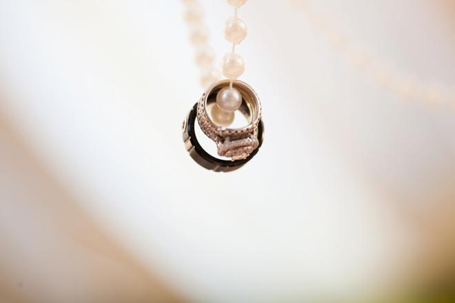 Lovely wedding ring shot...