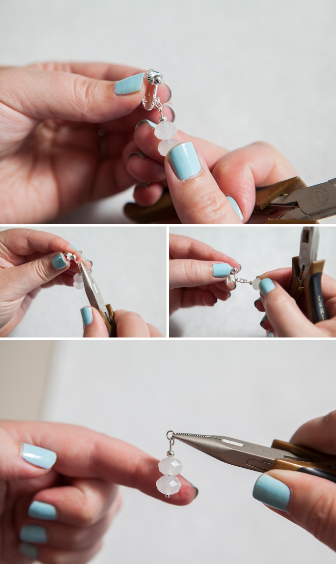 how to take apart an earring