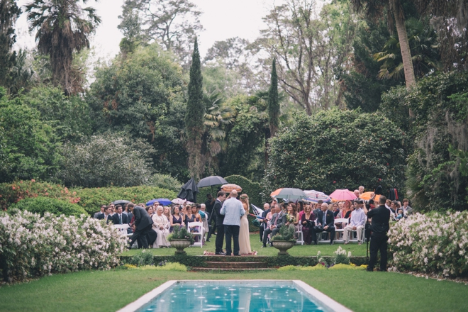 Vows in the rain