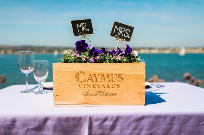 mr and mrs table