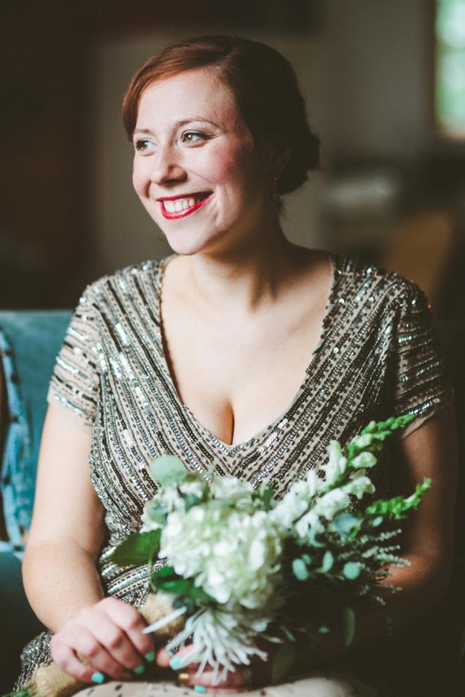 Bride portait